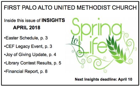 April 2018 web graphic