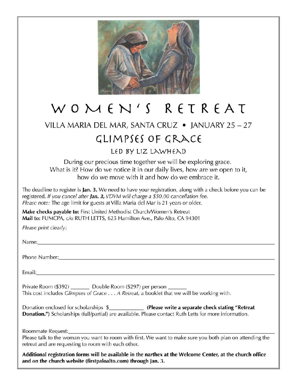 women's retreat 2019 color