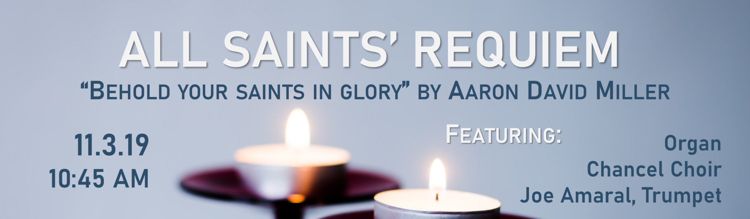 All Saints Banner 2019