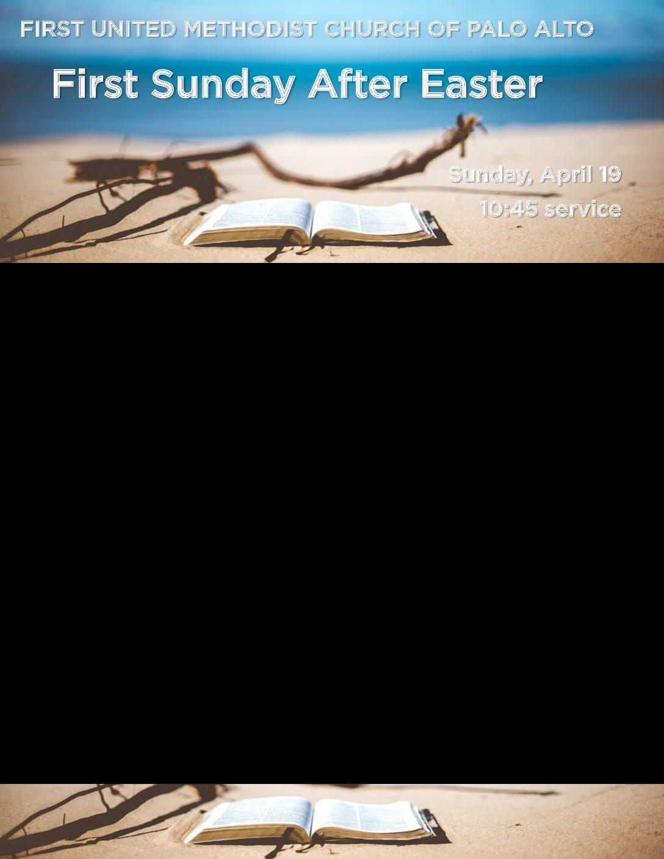 Worship Bulletin 4.19.20