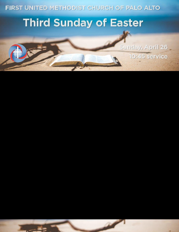 Worship Bulletin 4.26.20
