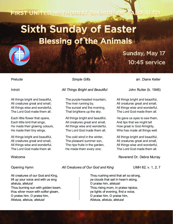 Worship Bulletin 5.17.20 v4