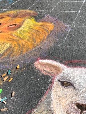 Chalk Art for Hotel de Zink