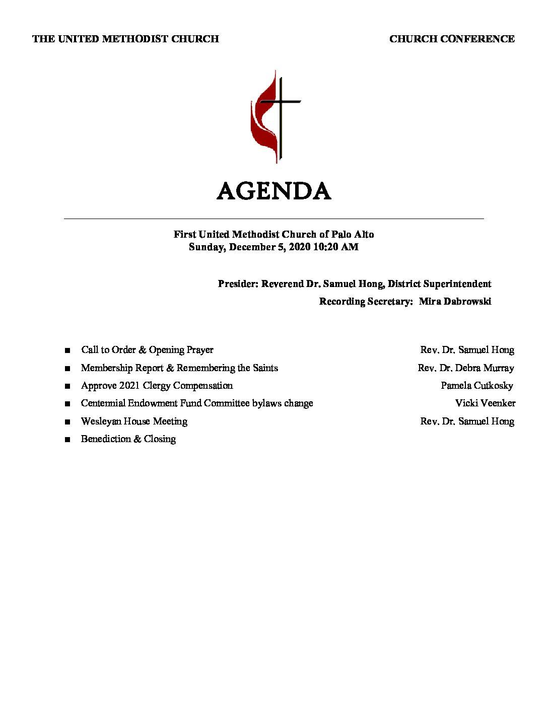 12.5.20 Church Conference Agenda FINAL.docx