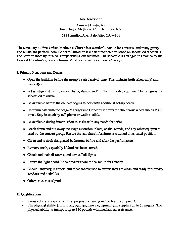 8.27.21 Concert Custodian Job Listing FINAL